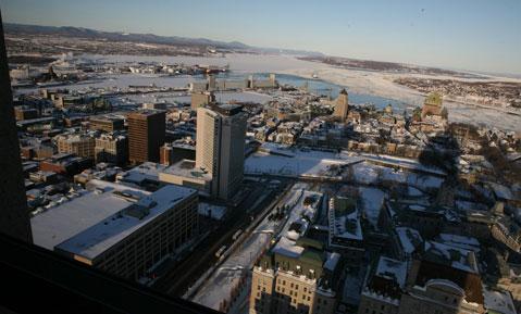 Magazine GEO : spécial ville de Québec