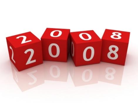 Mon regard sur les évènements majeurs de l'année 2008 en quelques mots…