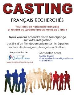 Intégration des français au Québec : témoignages recherchés !