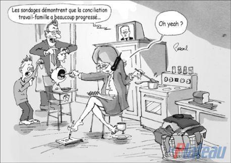 Le marché du travail québécois et la conciliation famille-travail