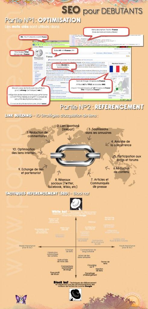 infographie SEO en français pour débutants