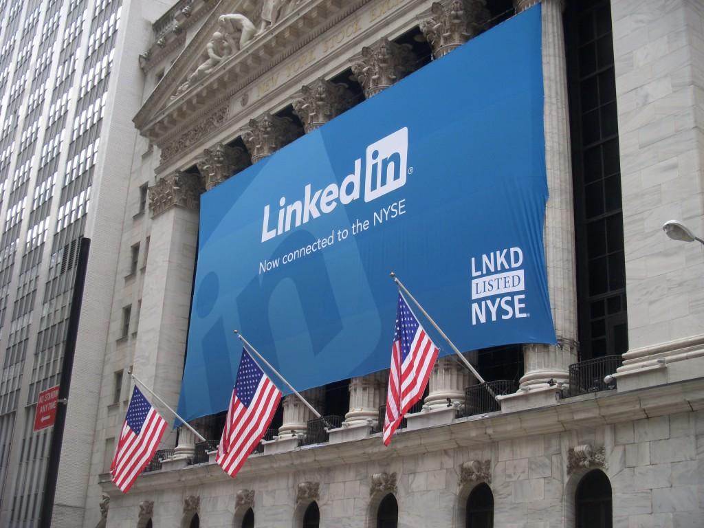 Linkedin en bourse