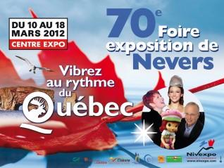 Foire NEVERS 2012 : vibrez au rythme du Québec