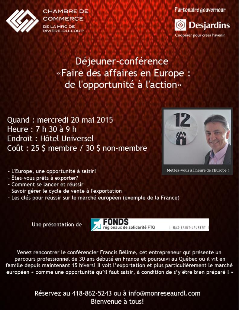 Affiche-Conference Cap-Europe_Chambre commerce RDL_mai 2015