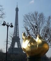 La tour eiffel à Paris, destination de la mission france pour des jeunes entrepreneurs du quebec