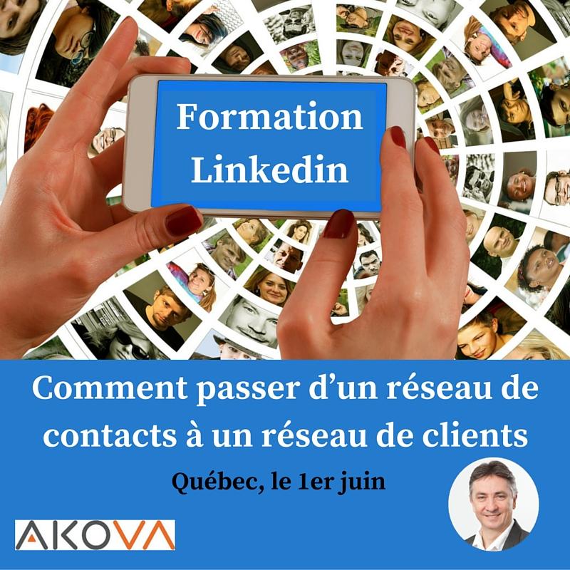 Formation Linkedin Québec